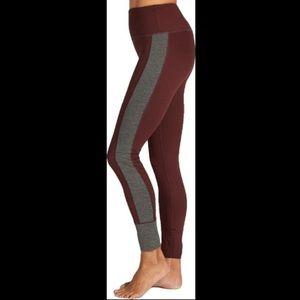 vuori asymmetric block leggings